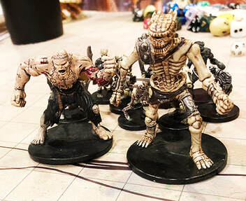 Large undead miniatures